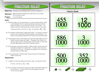 Fraction Relay