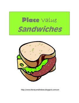 Place Value Sandwiches