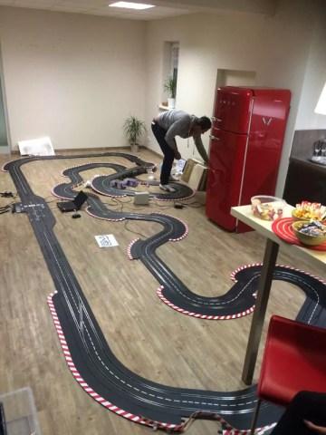 Carrera Streckenentwurf