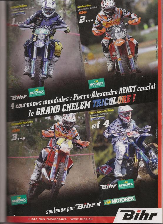 Pub Bhir moto verte Decembre 2012