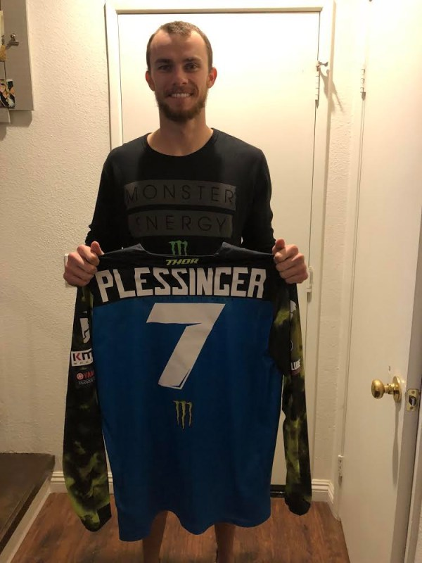 Maillot Aaron Plessinger !