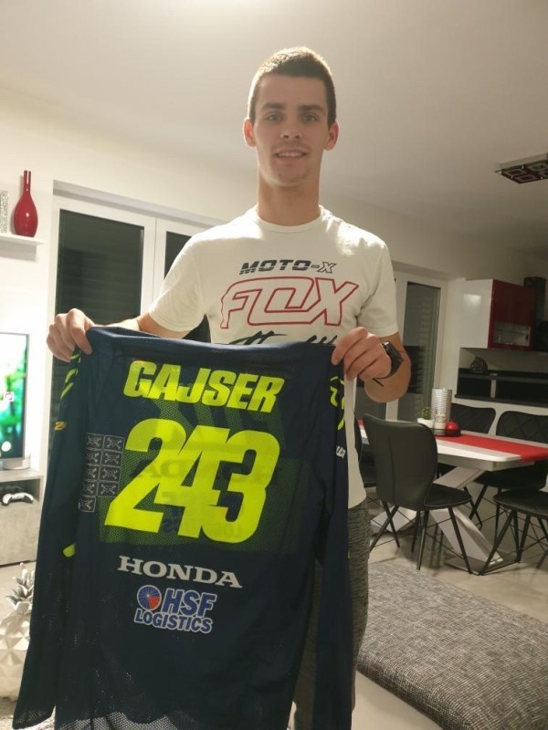 Maillot World CHAMP' Tim Gasjer