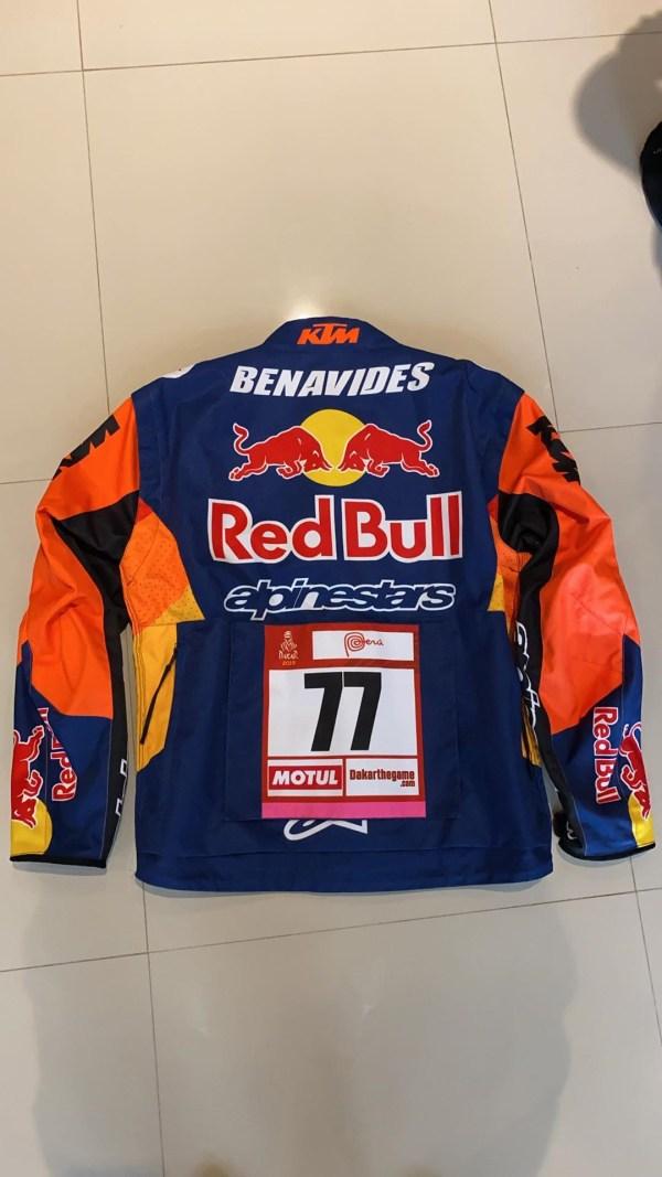 Rallye World Champ' Jacket Luciano Benavides