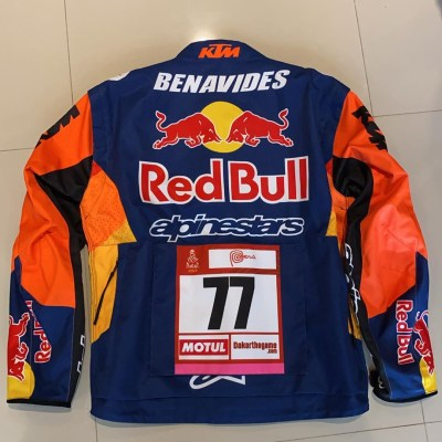 Rallye World Champ' Jacket Luciano Benavides