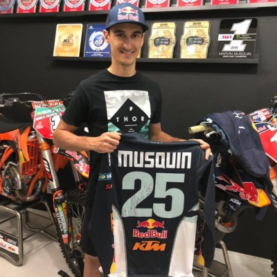 "Tenue Thor ""MM25"" Musquin 2019"
