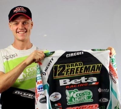 Maillot EnduroGP World Champ' Brad FREEMAN
