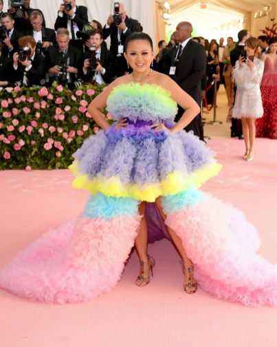 NEW YORK, NEW YORK - MAY 06: Nichapat Suphap attends The 2019 Met Gala Celebrating Camp: Notes on Fashion at Metropolitan Museum of Art on May 06, 2019 in New York City. Neilson Barnard/Getty Images/AFP