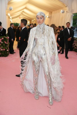 NEW YORK, NEW YORK - MAY 06: Gigi Hadid attends The 2019 Met Gala Celebrating Camp: Notes on Fashion at Metropolitan Museum of Art on May 06, 2019 in New York City. Neilson Barnard/Getty Images/AFP