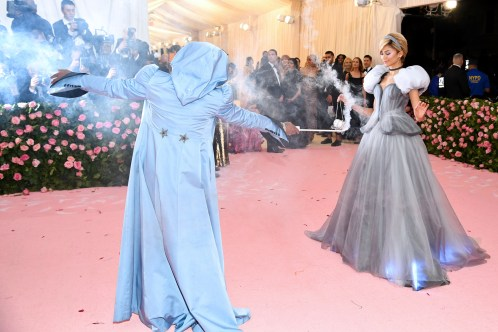 NEW YORK, NEW YORK - MAY 06: Law Roach (L) and Zendaya attend The 2019 Met Gala Celebrating Camp: Notes on Fashion at Metropolitan Museum of Art on May 06, 2019 in New York City. Dimitrios Kambouris/Getty Images for The Met Museum/Vogue/AFP