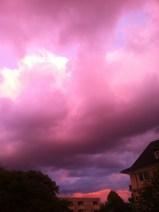 Wolken-Farben-Explosion am Himmel in Köln - 10-08-2014-6