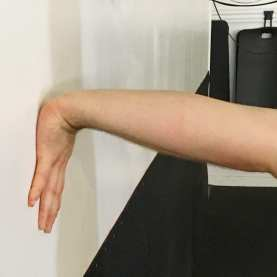 Bicep and Forearm Wall Stretch 6