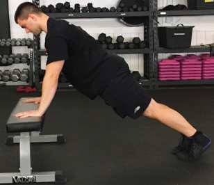 Modified Push Up Exercise 2