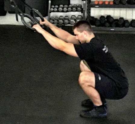 Modified Paleo Squat Exercise 2