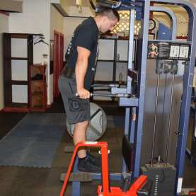 Weighted Dips Exercise 1