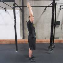 Healthy Shoulder Flexion-Extension Warm Up Exercise 2