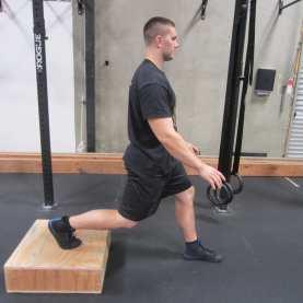 Bulgarian split Squat hip mobility Exercise 3