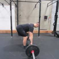 Barbell Row Exercise 3