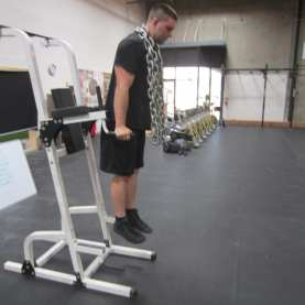Dips with Chains Exercise 3