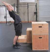 Plyometric Box Jump Exercise 7