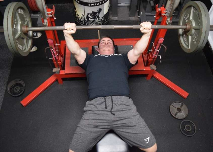 Dumbbell Shoulder Warm-Up for the Bench Press