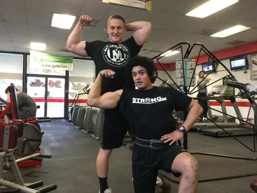 team stronger athletes