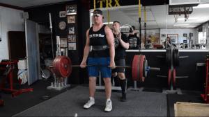 455 deadlift by Team stronger Tanner Mathias