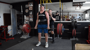 455 deadlift by Team stronger Tanner Mathias