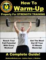 strength training warm up routine