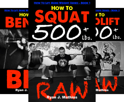 12 week powerlifting programs for squat, bench press and deadlift