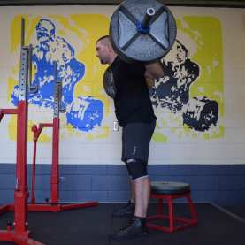 how to box squat 1