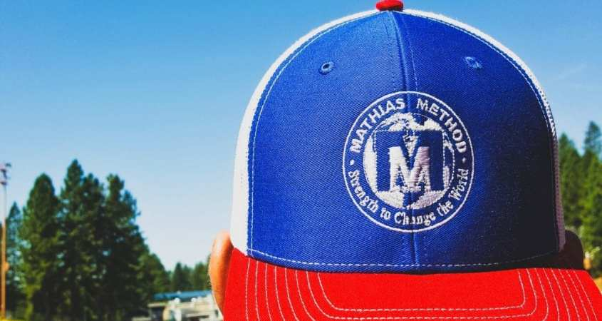 mathias method hat red white blue