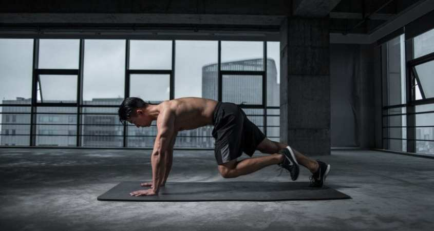 Dynamic Warm-Up Exercise Routine for Weight Training