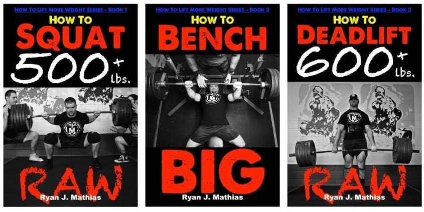 Squat Bench Press Deadlift Powerlifting Program for Strength