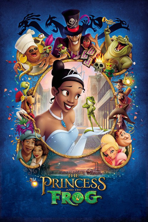 """Poster for the movie """"The Princess and the Frog"""""""