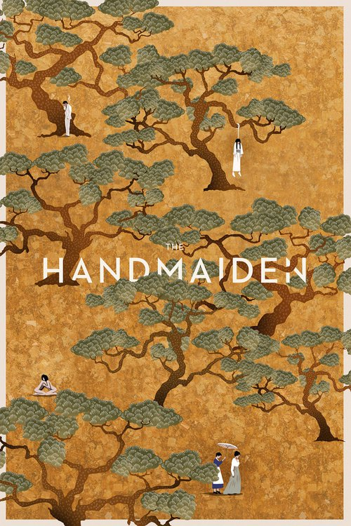 "Poster for the movie ""The Handmaiden"""