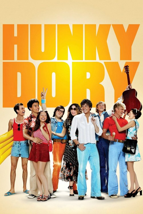 """Poster for the movie """"Hunky Dory"""""""