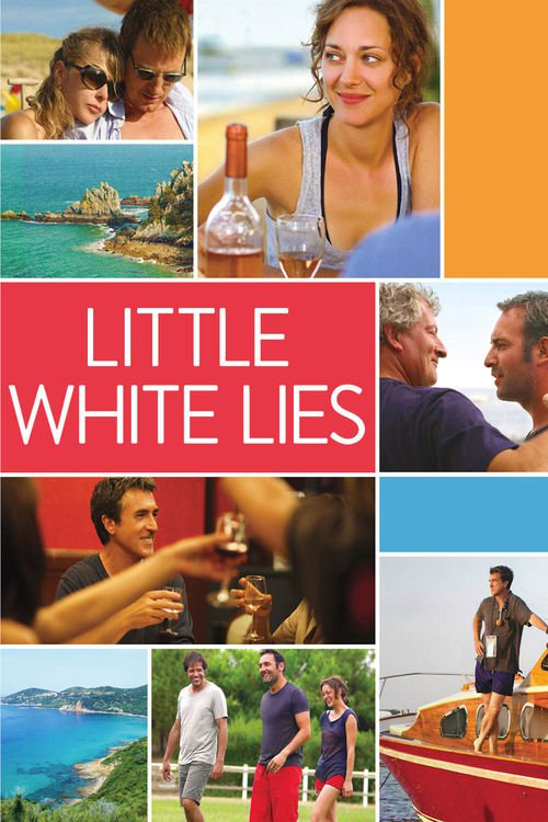 "Poster for the movie ""Little White Lies"""