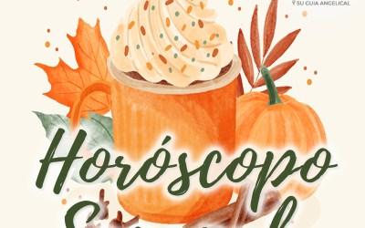 Horóscopo Semanal del 18 al 24 de Octubre Tarot Guía Angelical