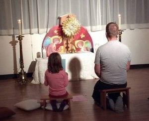 Le plus beau moment partagé avec ma fille en 6 ans et demi fut un moment de silence mais de profonde communion, à trois.