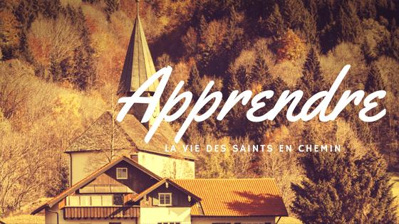 Apprendre la vie des saints