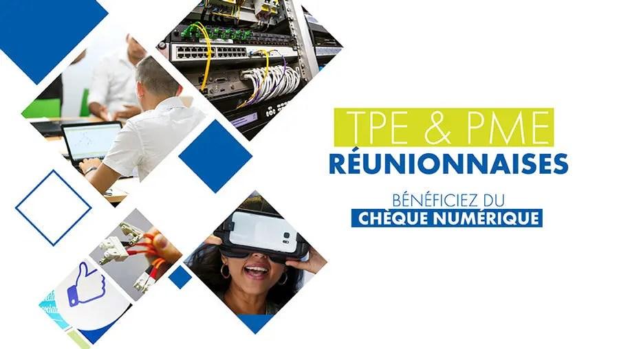 Comment soutenir les entreprises à la Réunion : le chèque numérique