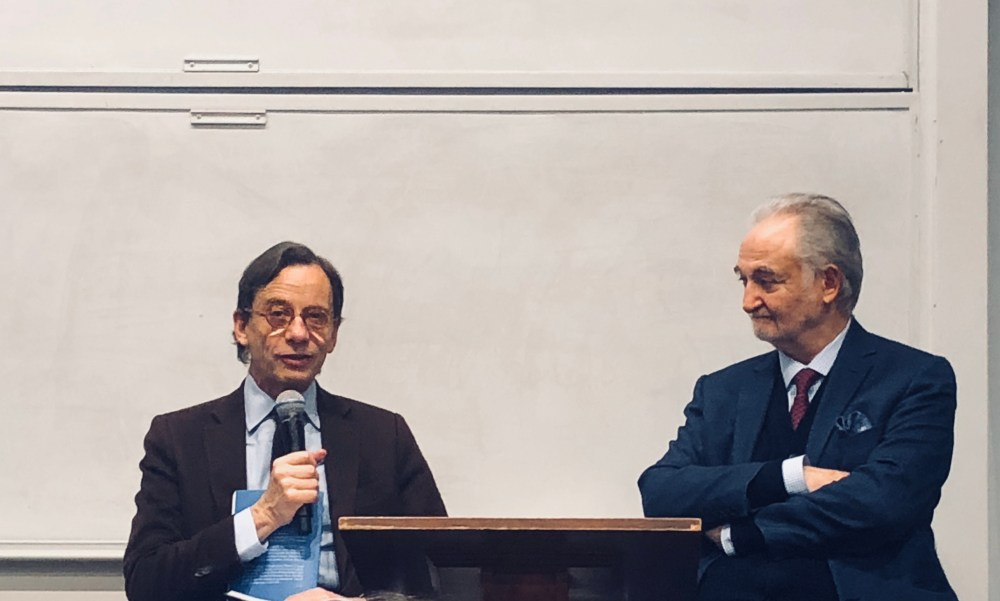 Olivier Barrot et Jacques Attali