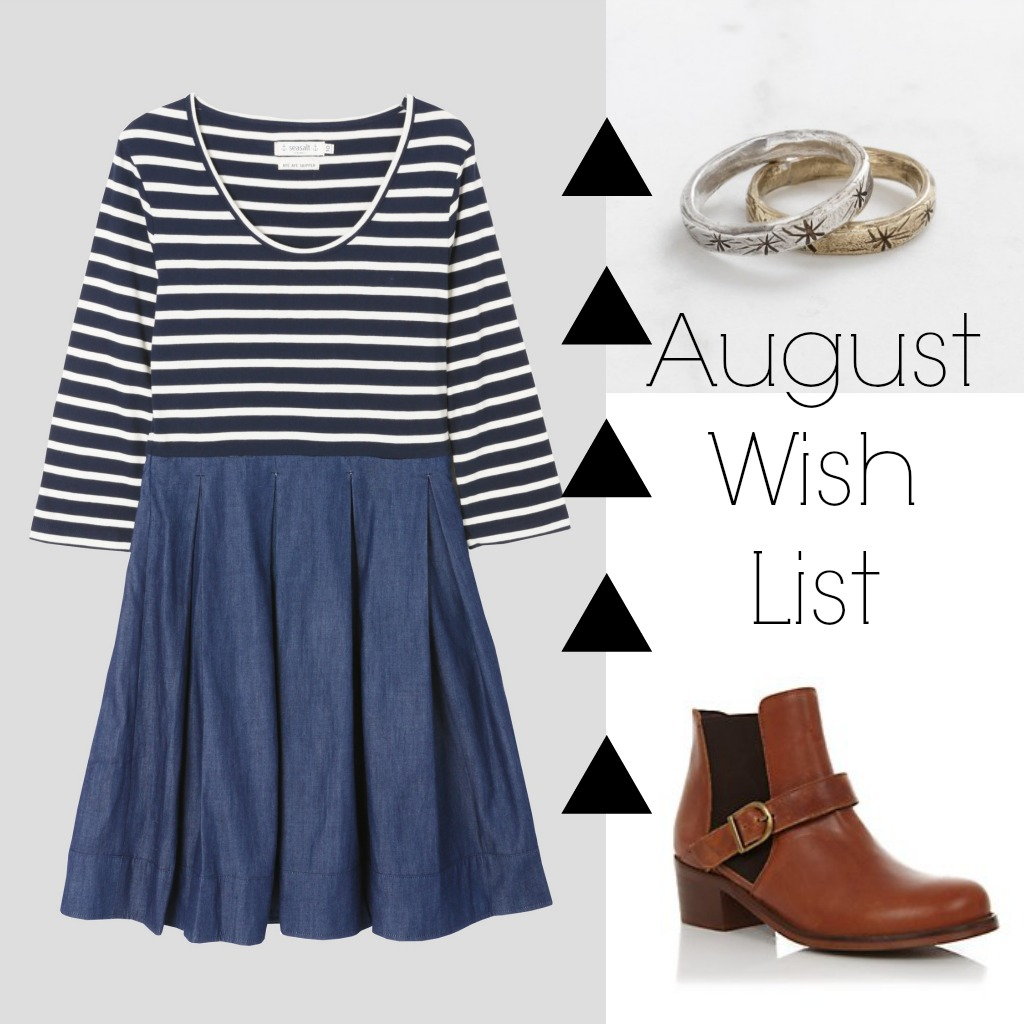 August Wish List Seasalt New Look And Datter Industries Mathilde Newlook Playful If I Could Get Away With It The Phoebe Dress From Is Type Of Would Wear All Time Its Stripes Perfect