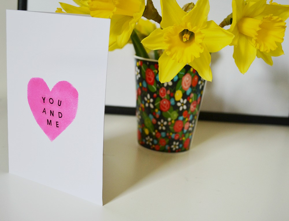 card diy for valentines