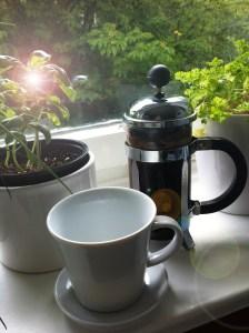 Mathilde mag ihren morgendlichen Kaffee