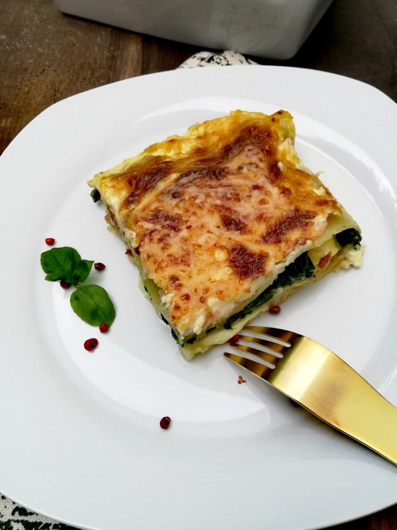 Lasagnes aux deux saumons et épinards2