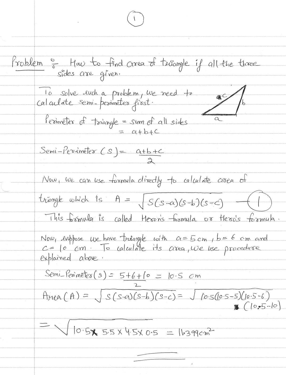 Math On Rough Sheets