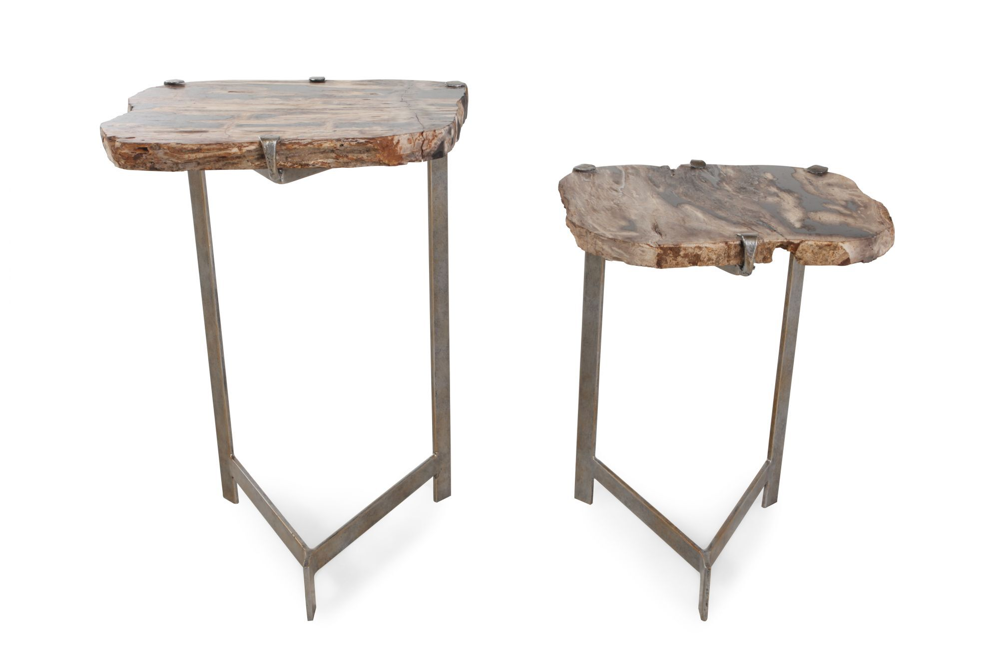 Modern Nesting Tables In Caribbean Gold
