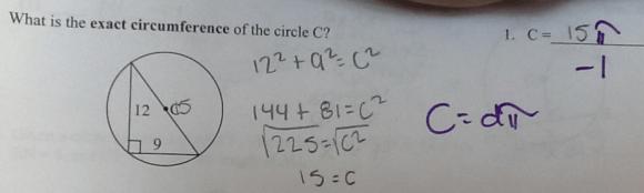 circle mistake
