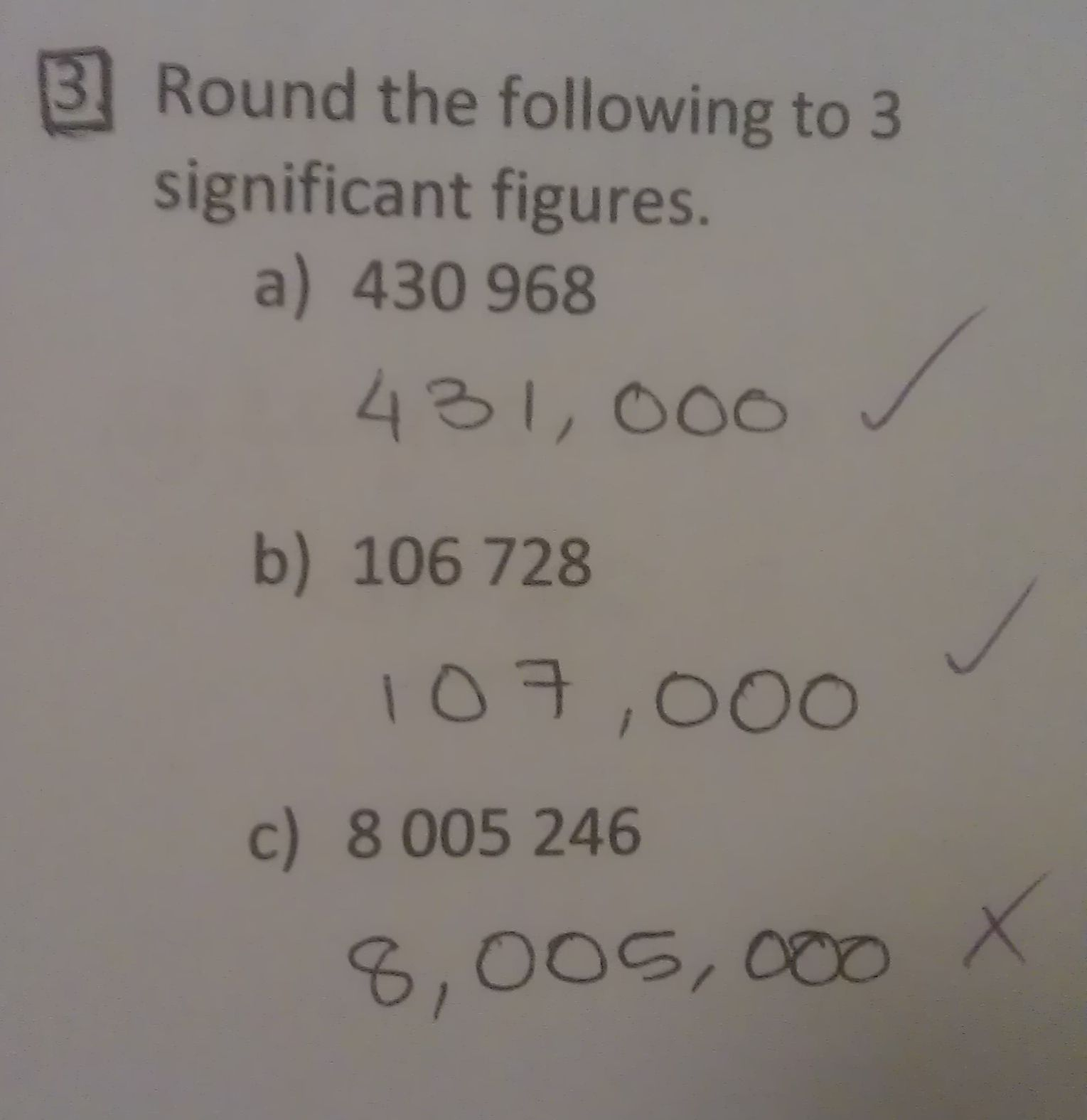 Significant Figures Math Mistakes